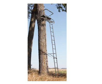 4. 18' Sniper Deluxe 2-man Ladder Tree Stand