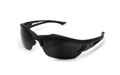 10. Edge Tactical Eyewear SG61-G15 Acid Gambit Matte Black with G-15 Lens