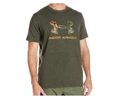 1. Under Armour Men's Camo Fill Logo T-Shirt