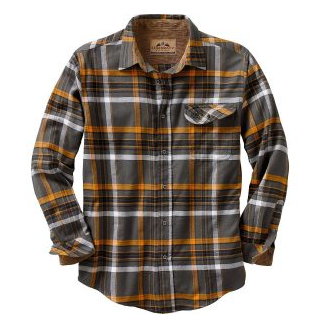 3. Legendary Whitetails Buck Camp Flannel Mens