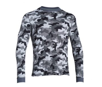 1. Under Armour Men's UA Amplify Camo Thermal Crew