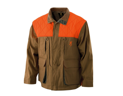 6. Browning Pheasants Forever Upland Canvas Jacket