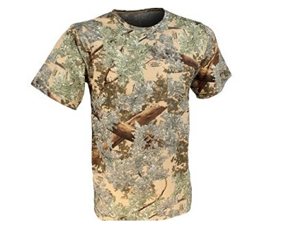 2. King's Camo Cotton Short Sleeve Hunting Tee mens