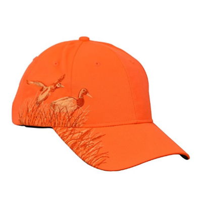 10. KC Caps Unisex Adult Adjustable Hunting Cap Hat Embroidery