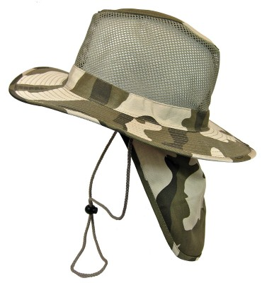 5. Mesh Military Camouflage Boonie Bush