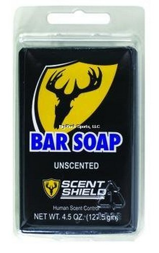 9. Scent Shield SB Bar Soap Clam, 5-Ounce