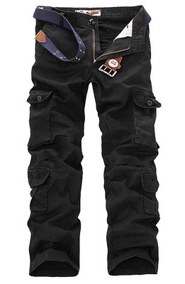 7. Mens Casual Outdoor Army Camo Cargo Pants