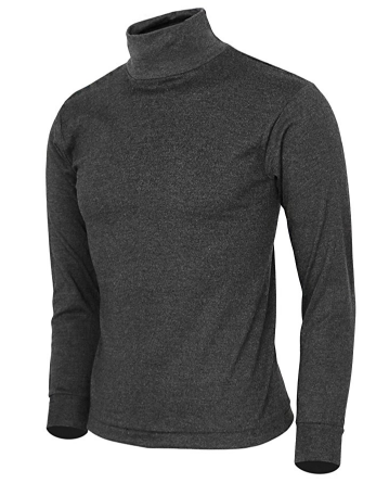 9. BCPOLO MEN'S TURTLENECK SHIRT