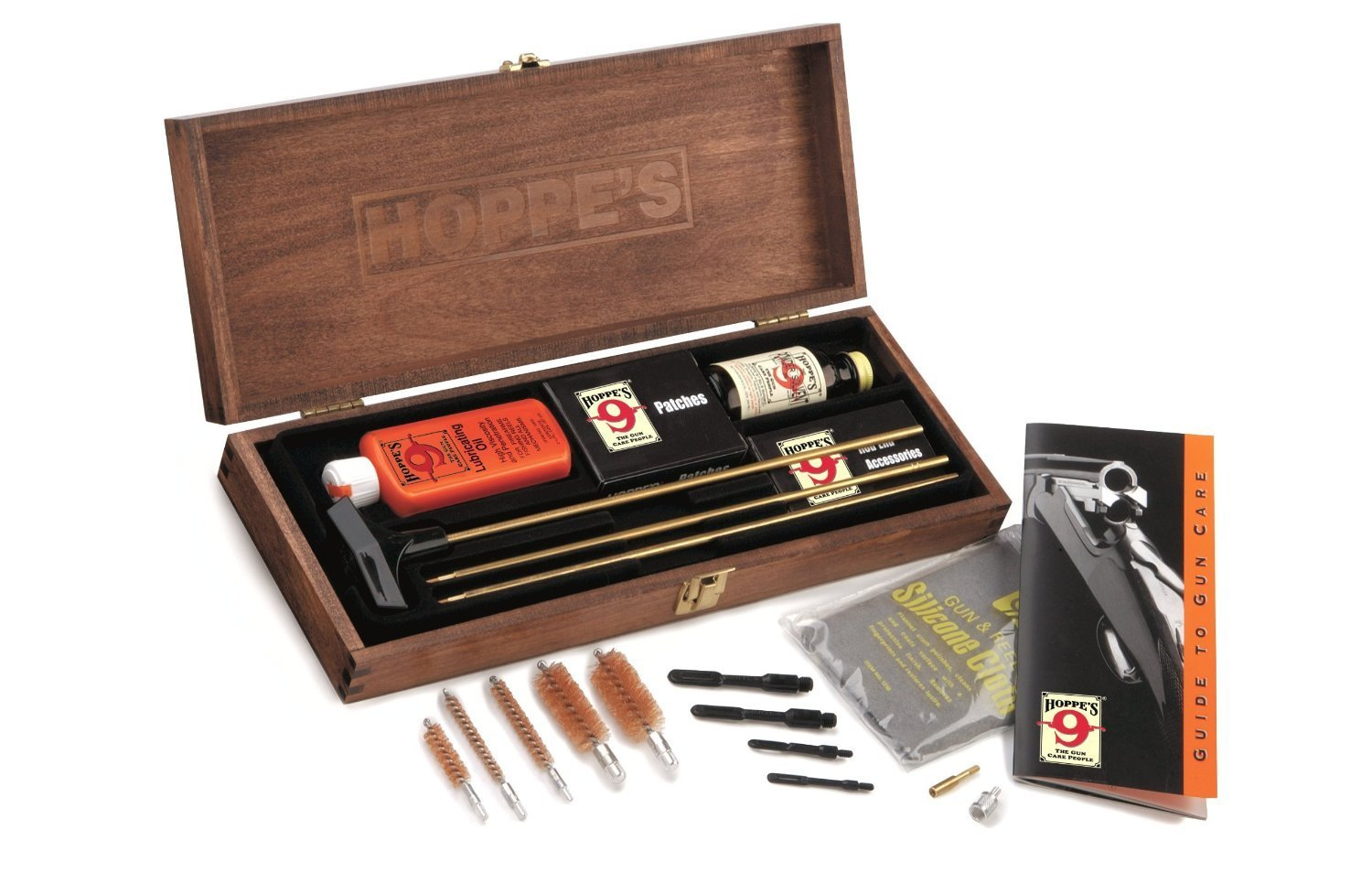 2. Hoppe's No. 9 Deluxe Gun Cleaning Kit