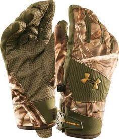 under armour thermal gloves