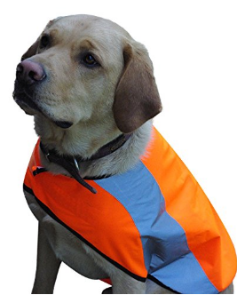 2. NATURALLY SIMPLE PETS REFLECTIVE DOG VEST