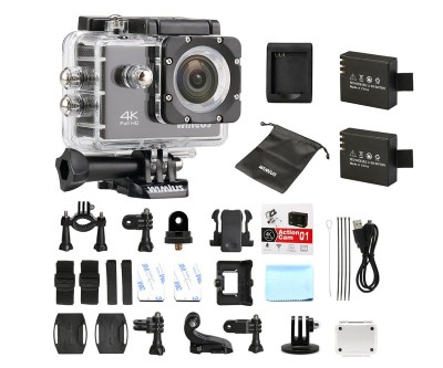 10. WiMiUS 4K Sports Action Camera Wifi 16MP 2.0 inch Waterproof Video Camera