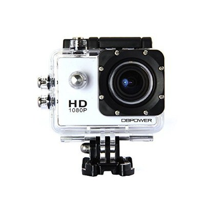 6. DBPOWER Waterproof Action Camera