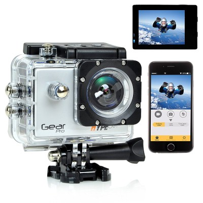 3. Gear Pro 4K 60fps Ultra HD Waterproof Sports Action Camera