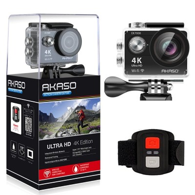 1. AKASO EK7000 4K WIFI Sports Action Camera