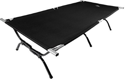 1. TETON Sports Outfitter XXL Camping Cot Perfect for Base Camp and Hunting; Free Storage Bag Included