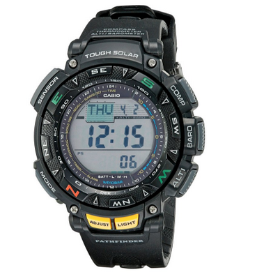 6. Casio Men's PAG240-1CR Pathfinder Triple Sensor Multi-Function Sport Watch