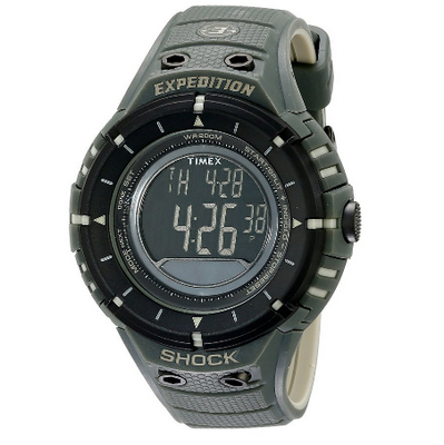 2. Timex Expedition Shock Digital Compass Watch