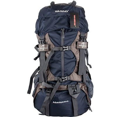 1. WASING 55L INTERNAL FRAME BACKPACK