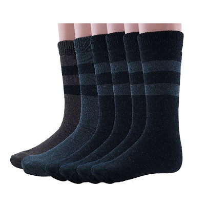 4. Men's Rabbit Wool Thermal Socks