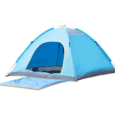 9. BATTOP Camping Tent Pop Up Tent Backpacking Outdoor Waterproof 3 Season for Travel Fishing Hiking