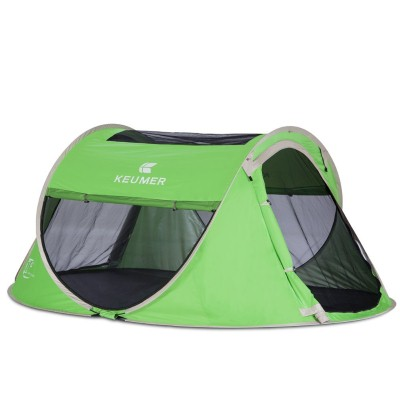 8. Pop-Up Tent Automatic and Instant Setup-Waterproof and Anti-UV for 3-4 Person for Hiking and Camping