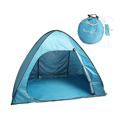 7. Pop Up Tent, Sunba youth Portable Camping Tents for 3 Person, Outdoor Automatic Instant Tent Sun Shelters