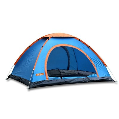 4. Pop up Camping Tent by TSWA, Automatic & Instant Setup Dome Waterproof Backpacking Tents for 3-4 Person Portable Hiking Pack Shelter