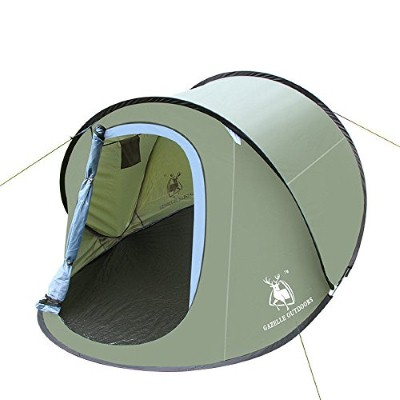 2. Camping Hiking Pop Up Tent Instant Shelter Easy Set Up Quick Foldback Large Size