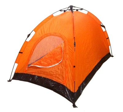 1. Instant Automatic Pop Up Backpacking Camping Hiking 2 Man Tent Orange Sealed