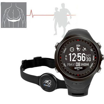 compass watch heart rate monitor