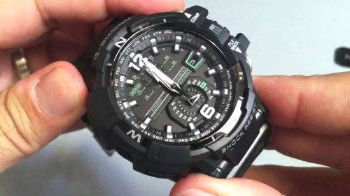 digital compass watch and magnetic materials