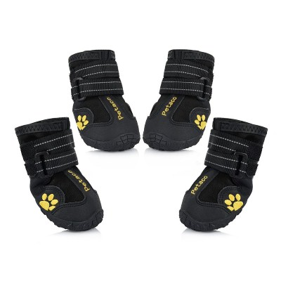 3. Petacc Dog Boots Waterproof Dog Shoes for Large Dogs and Black Labrador Waterproof