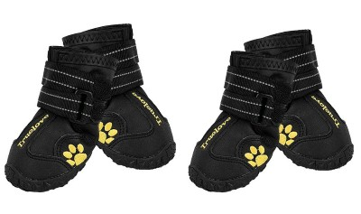 5. Expawlorer Waterproof Dog Shoes Reflective Non Slip Pet Boots for Medium Large Dogs