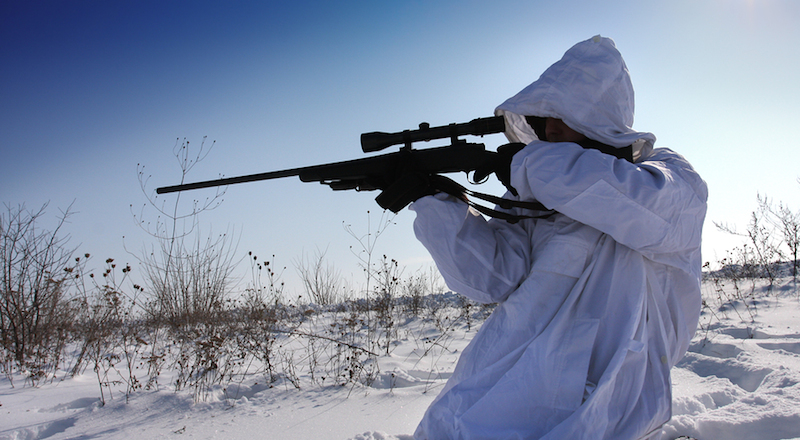 hunting in snow tips for adjusting to the tough elements  take advantage