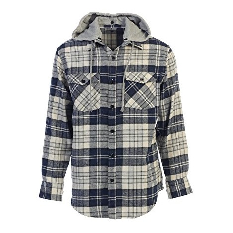 13. Gioberti Hooded Button Down
