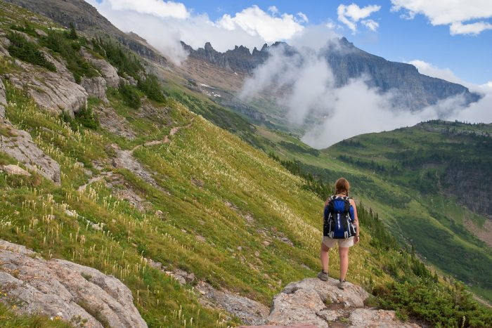 The Highline Trail in Montana