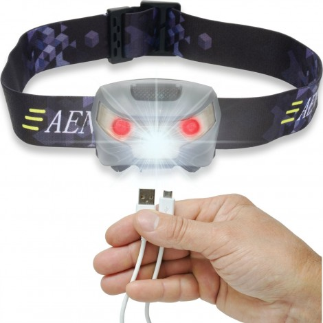17. Aennon USB Rechargeable LED