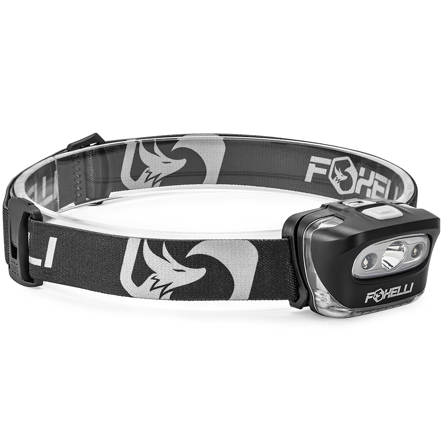 6. Foxelli Headlamp Flashlight