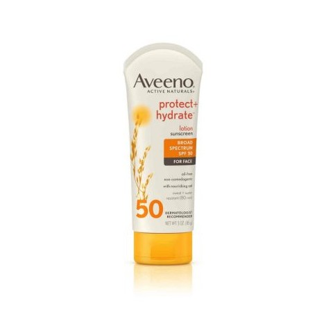 9. Aveeno Protect + Hydrate Face