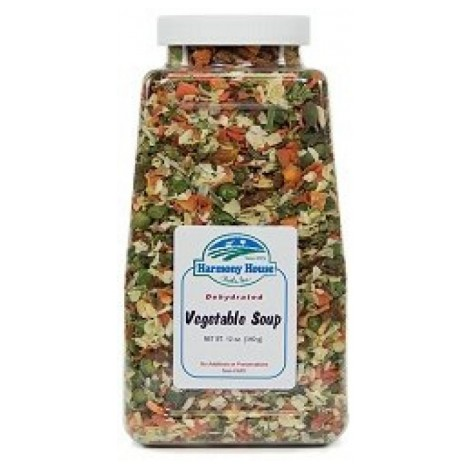 3. Harmony House Veggie Soup Mix