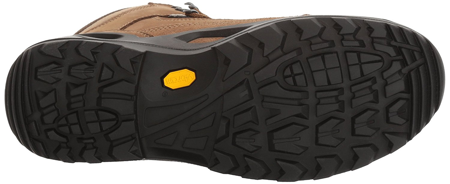 Bottom view of the Lowa Renegade GTX hiking boot