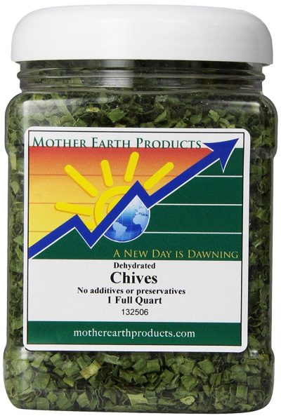 4. Mother Earth Products Dried Chives