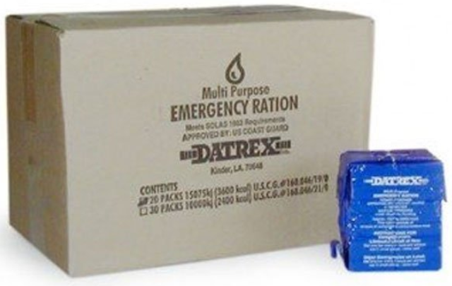 7. Datrex 3600 Emergency Food Bar