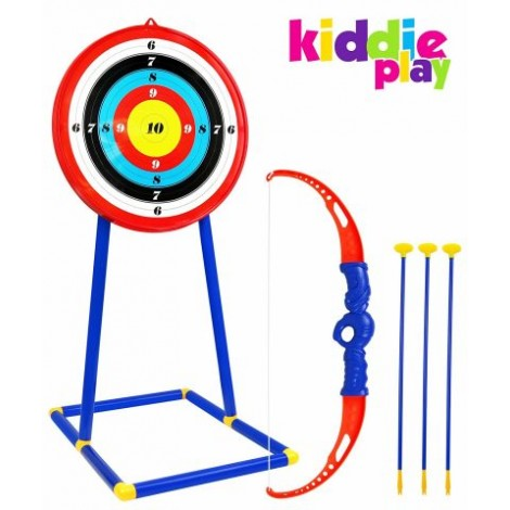 9. Kiddie Play Toy Archery Set