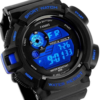 Fanmis Men'S Military Watch, Best Compass Watches