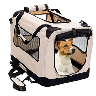 2Pet Foldable Crate Dog Carrier