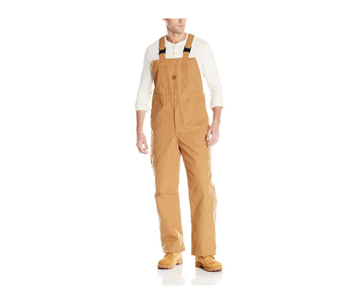 8. Red Kap Insulated Blended Duck Bib Overall