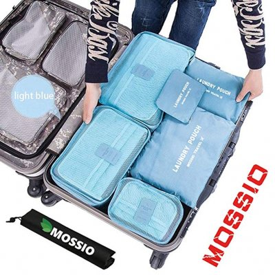 Mossio 7 Set Packing Cubes. Best Travel Organizers