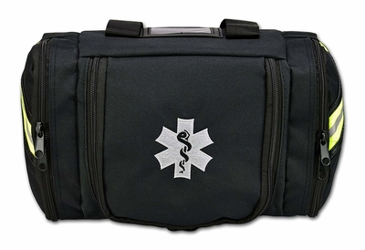 Embroidered top view of Lightning X Value Compact Medic First Responder EMT/EMS First Aid Kit